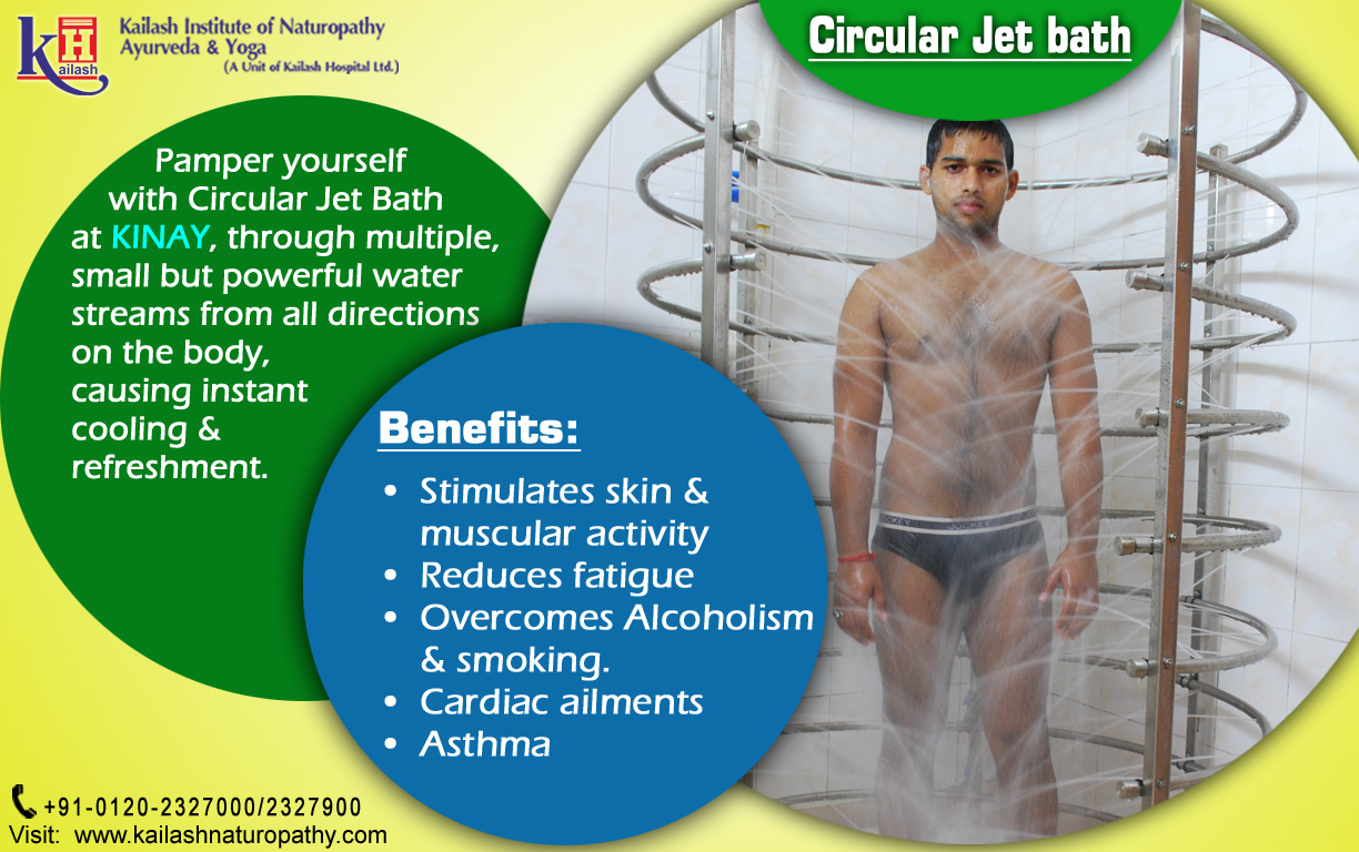 Pamper yourself with Circular Jet Bath at KINAY