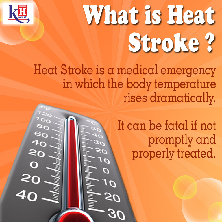 Heat Stroke is a major Medical Emergency occurring in Summer