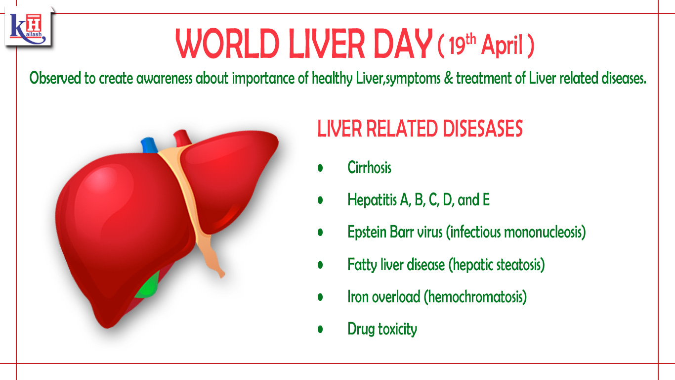 World Liver Day Creates Awareness about the Symptoms and Treatments of Liver Diseases