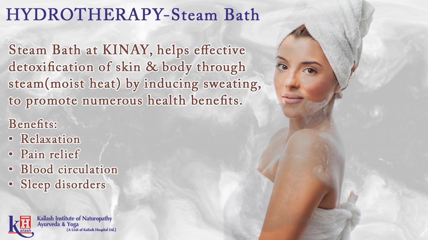 Hydrotherapy Steam Bath