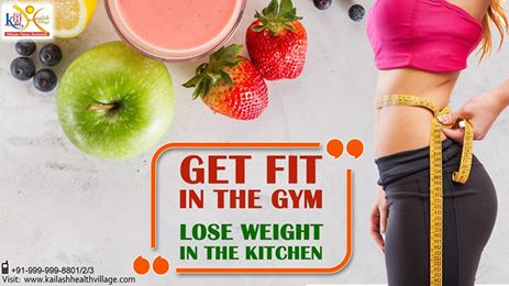 Manage your diet to lose weight while getting fit at Gym