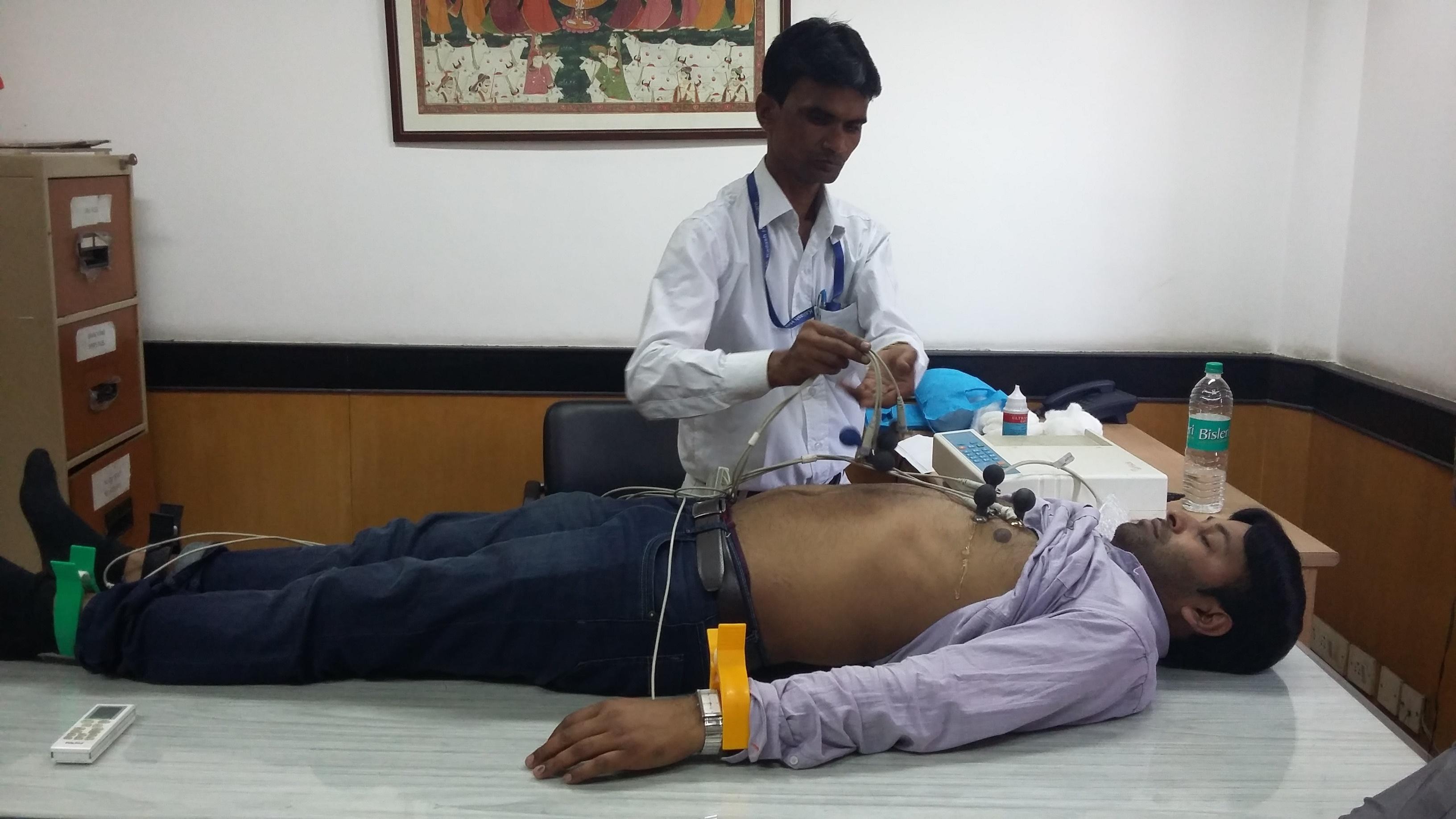 Kailash Charitable Trust organized a Free Health Check
