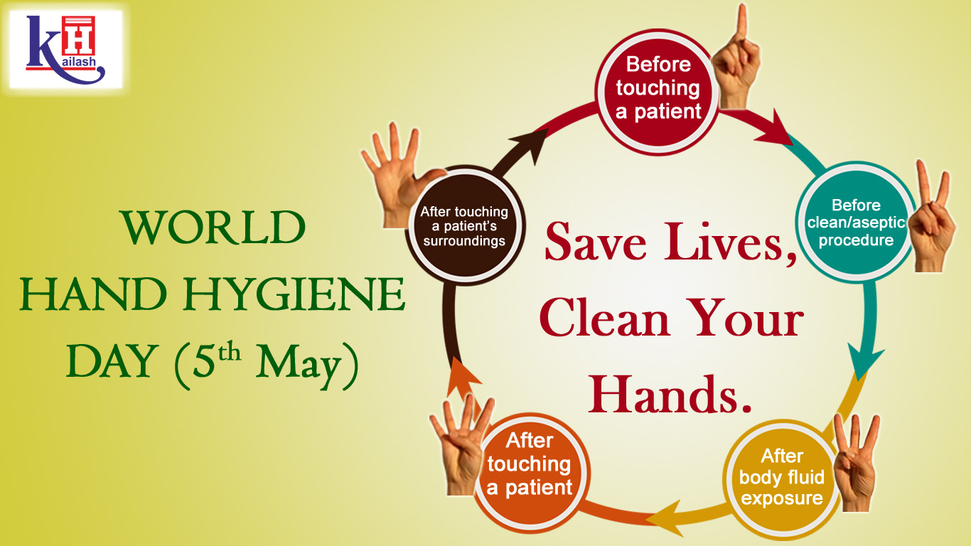 Practicing five important Hand Hygiene Moments can save Lives
