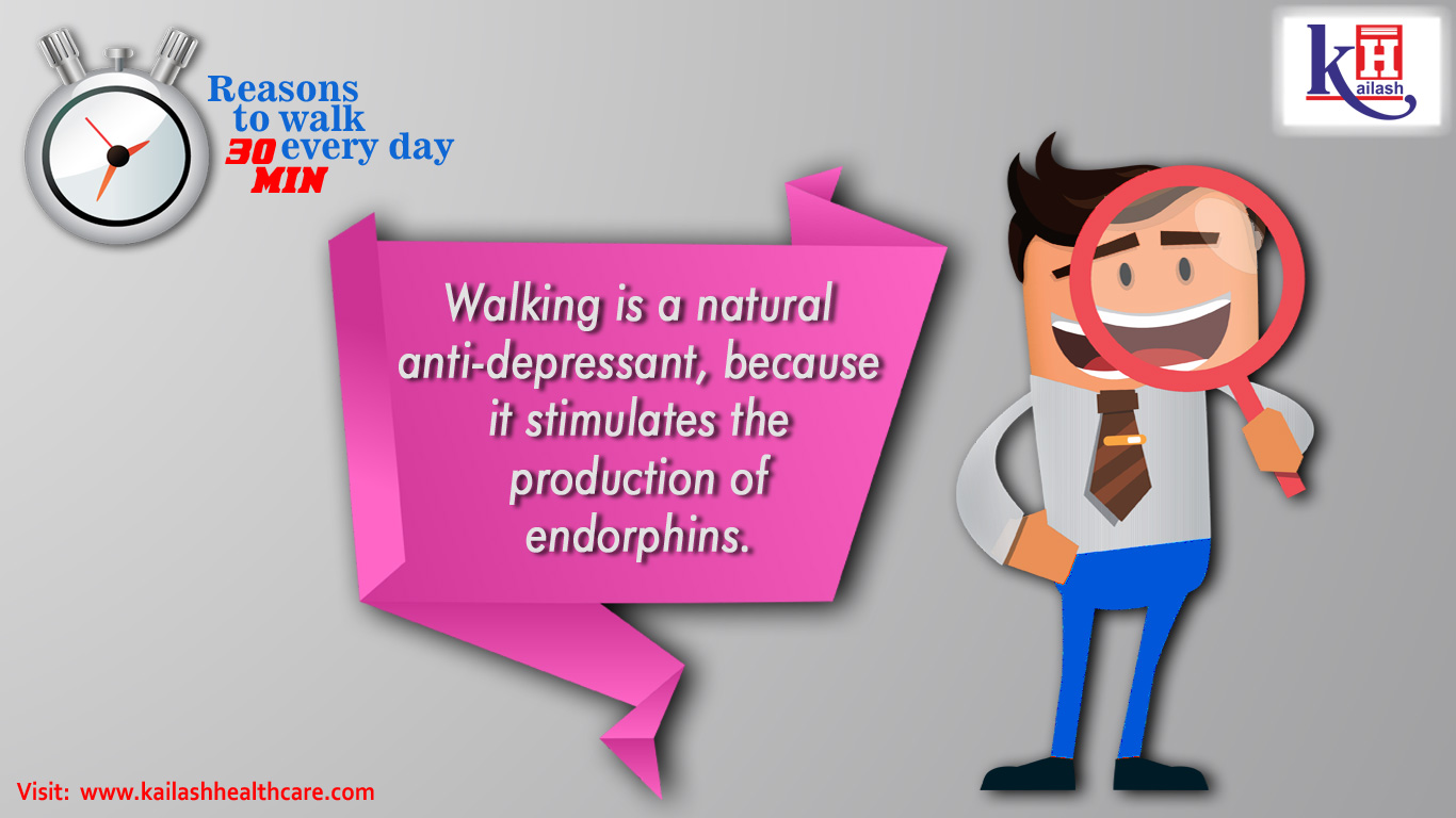 Reason to Walk 30 Mints Every Day
