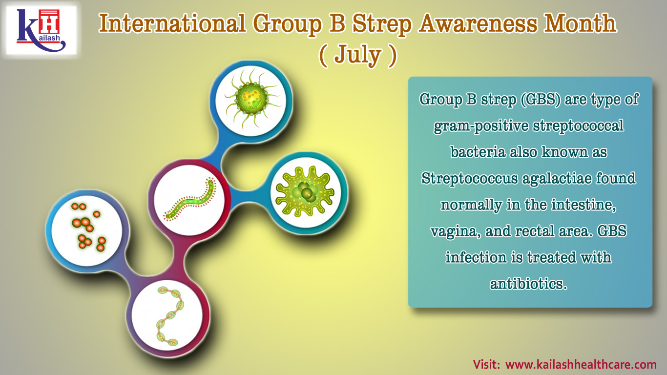 International Group B Strep Awareness Month (1st July)