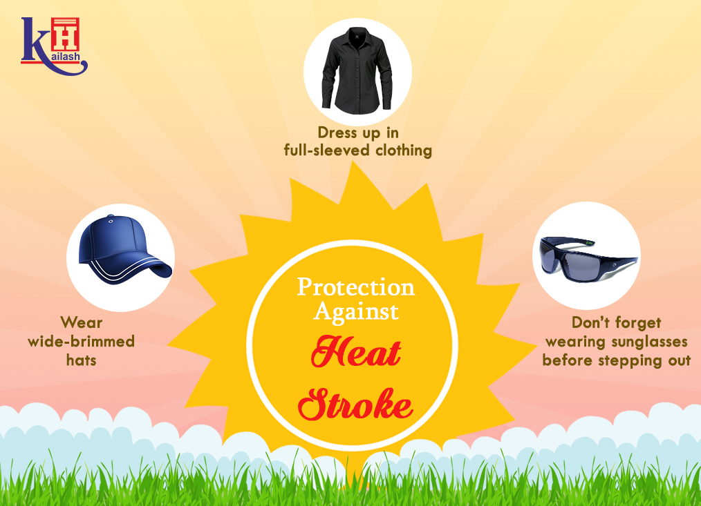 Here are some helpful ways to protect you against the harmful affects of heat stroke. Must follow!