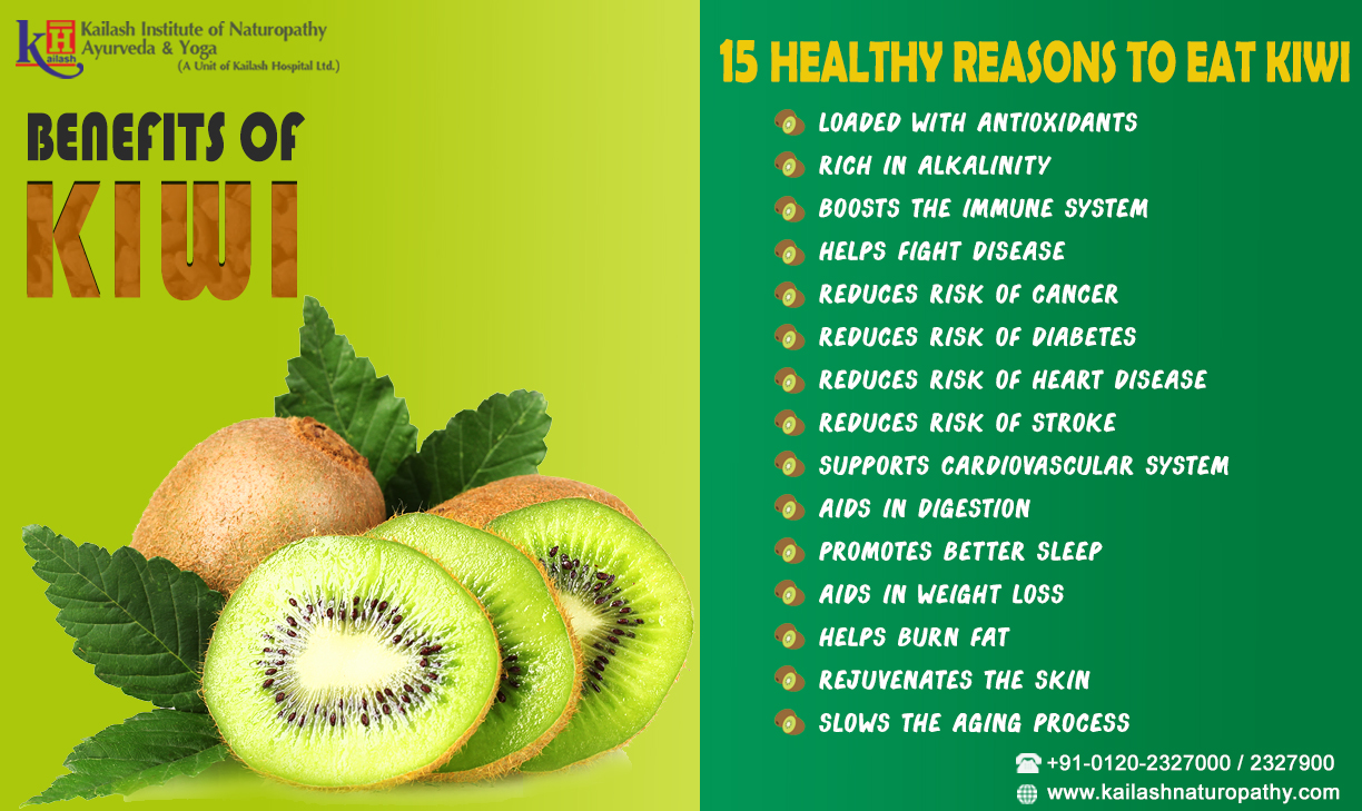 Learn the secret to amplify your Kiwi Health Benefits!