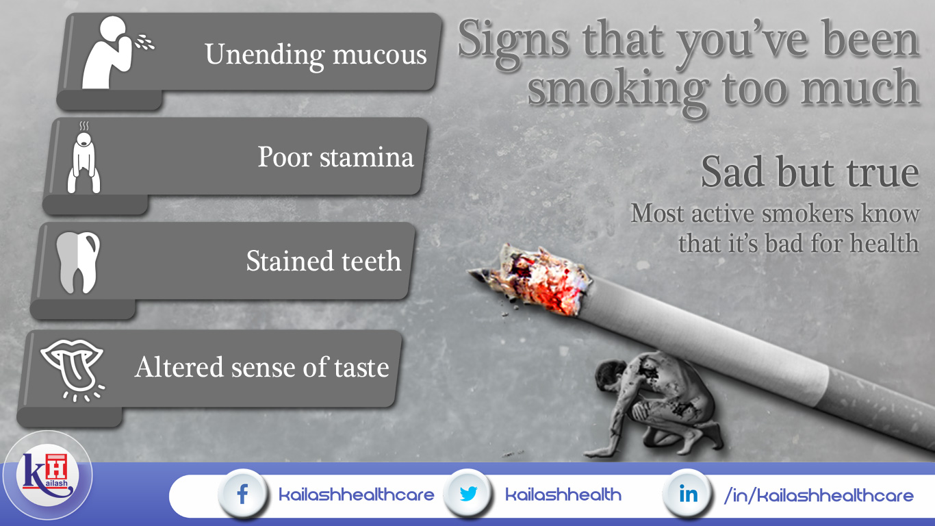 Signs of Chain Smokers