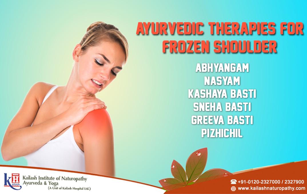 Ayurvedic Therapies For Frozen Shoulder