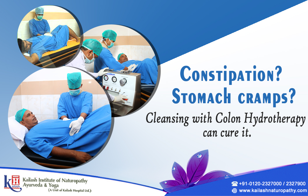 Constipation? Stomach cramps? Cleansing with Colon Hydrotherapy can cure it.