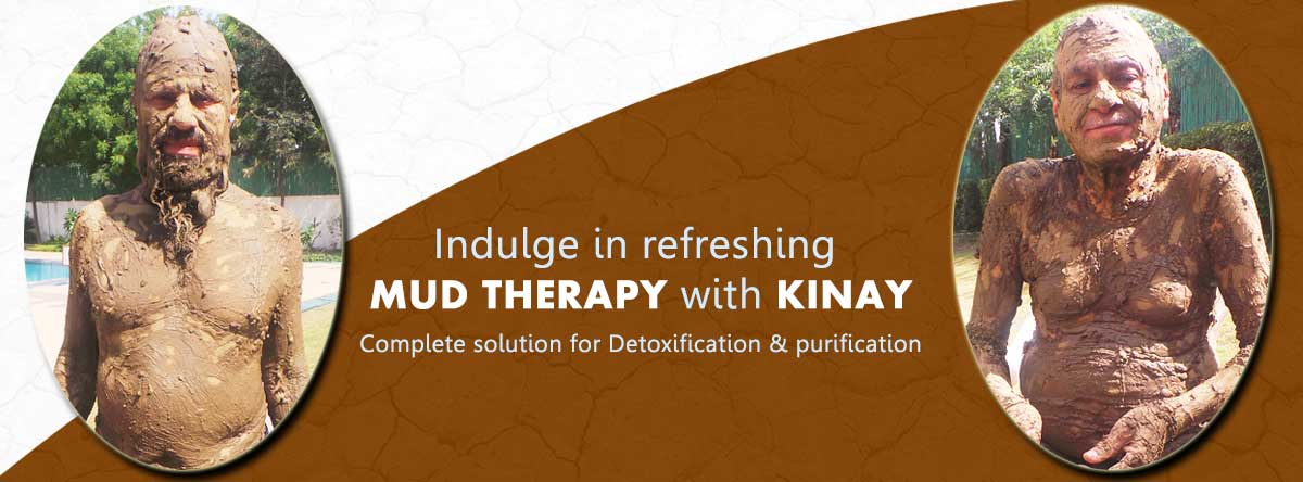 Hesitate to talk about your skin problem? Get it cured with Mud therapy at KINAY.