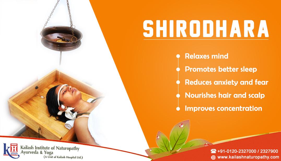 Benefits of Shirodhara