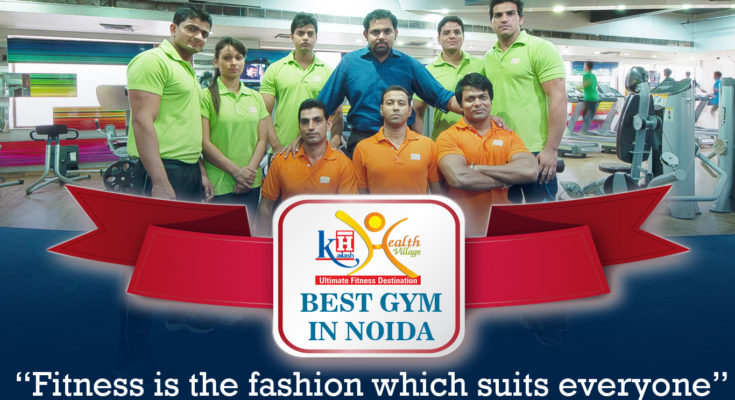 GET THE FITNESS YOU WANT AT THE BEST GYM IN NOIDA