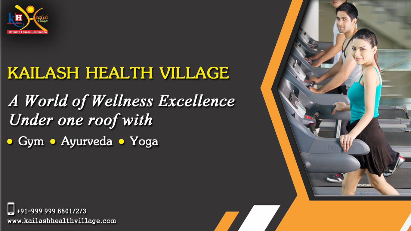 A world of Wellness Excellence Under one roof at Kailash Health Village