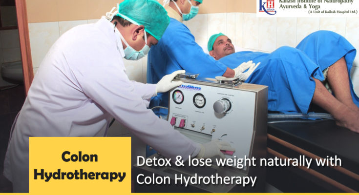 Detox & lose weight naturally with Colon Hydrotherapy