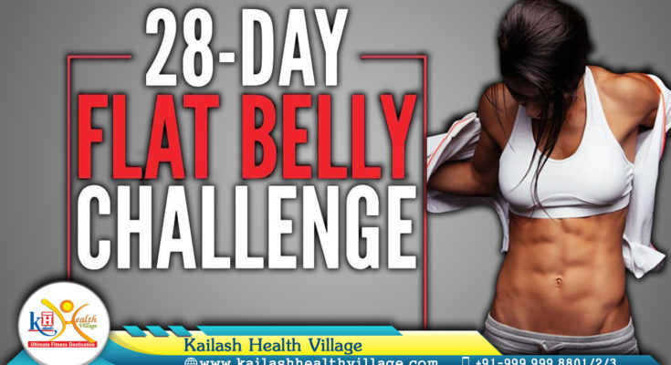 Flatten your belly with Fitness Expert - Kailash Health Village