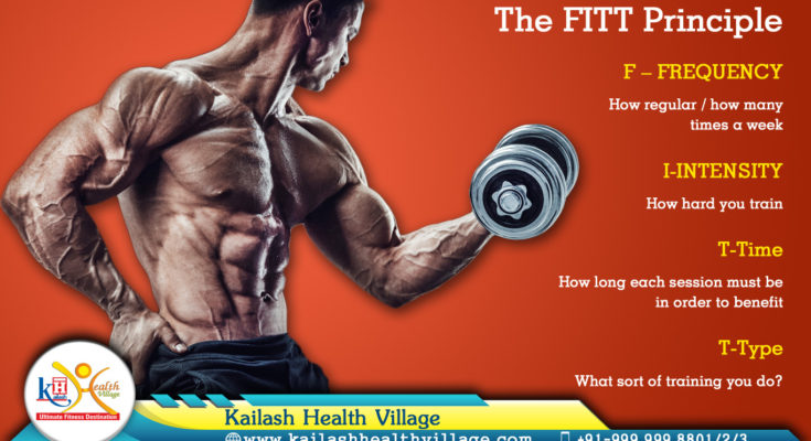 Keep Changing… Here is FITT Principle for YOU, Give it a try