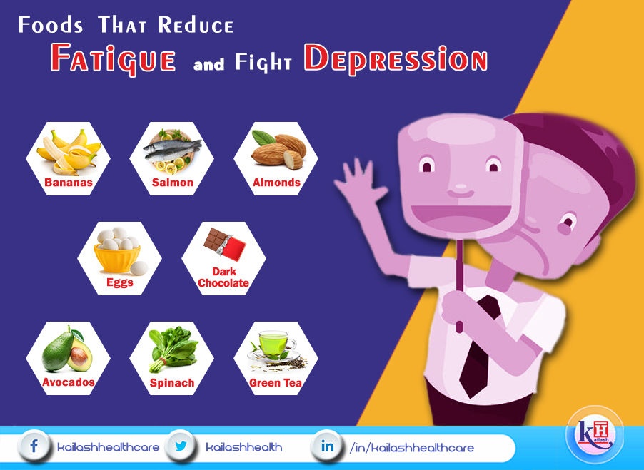 Foods That Reduce Fatigue and Fight Depression