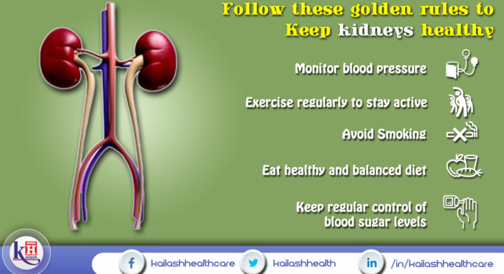 Follow These Golden Rules to Keep Kidneys Healthy