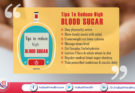 Tips to Reduce High Blood Sugar