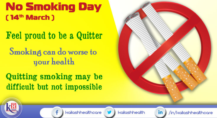 Quitting Smoking today can save your & your loved one's Life
