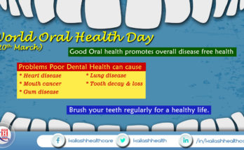 Good oral health contributes to overall health & well-being!