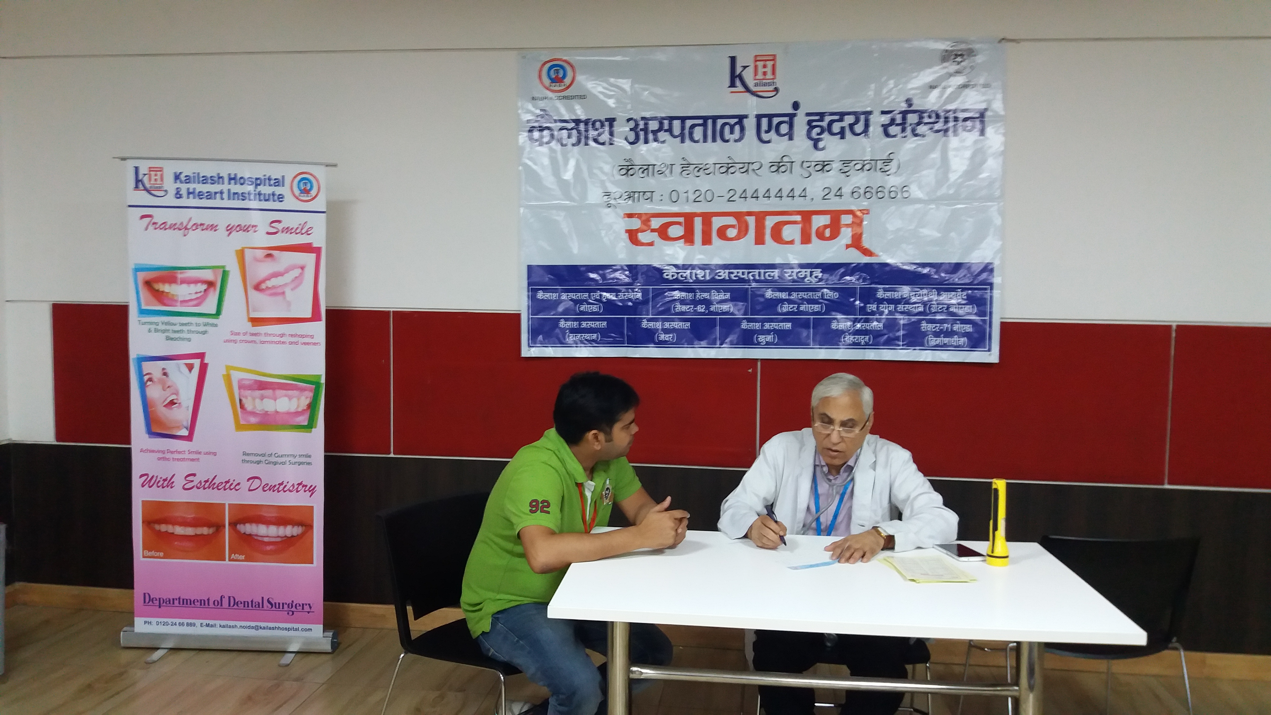 Kailash Hospital & Heart Institute Noida Organized a Free