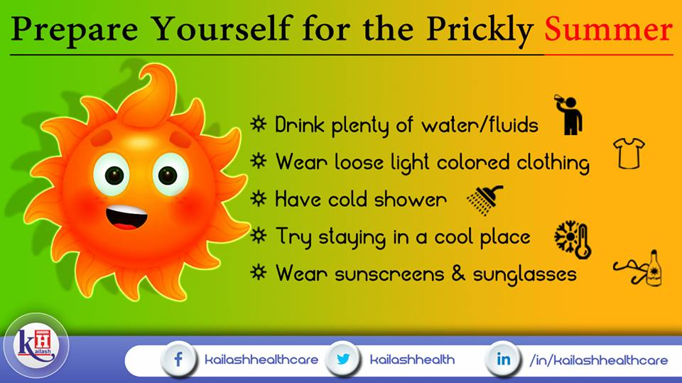 Summer is here! so prepare yourself for the heat