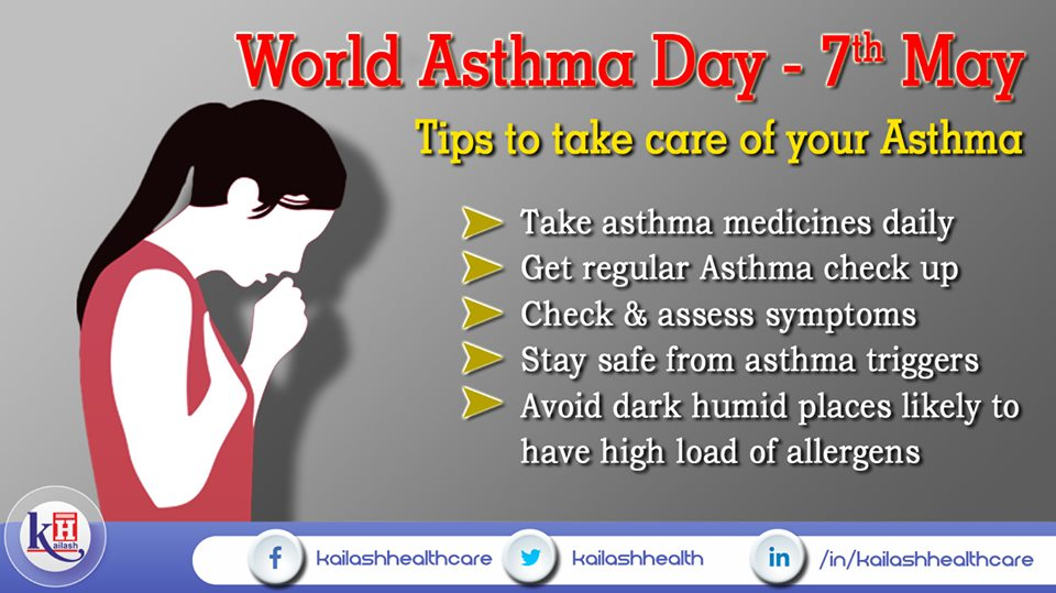 Follow these vital tips to care for Asthma & prevent allergens.