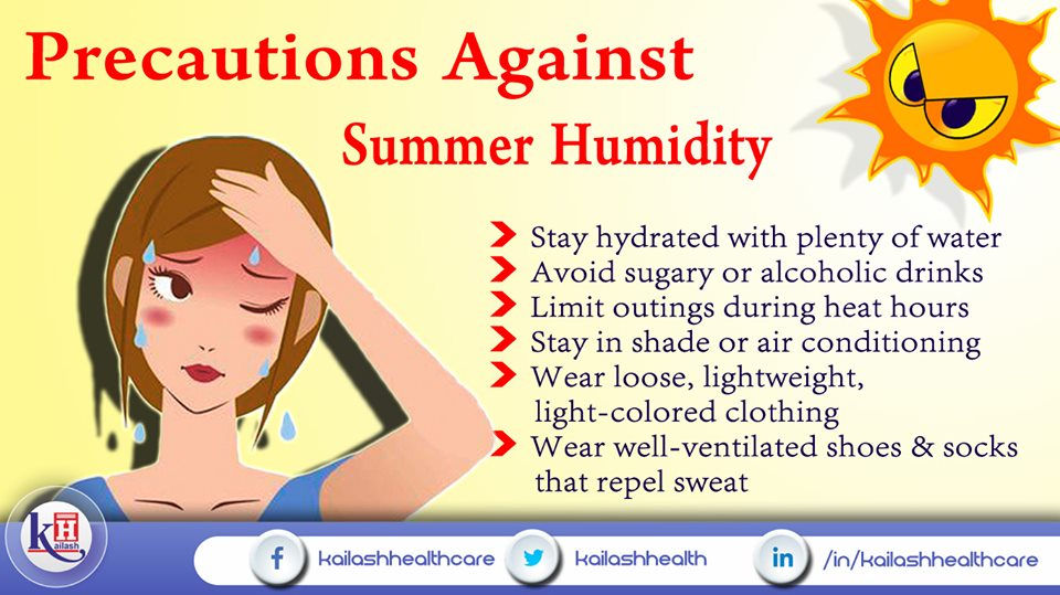 Here are some vital tips to prevent humidity during Summers.