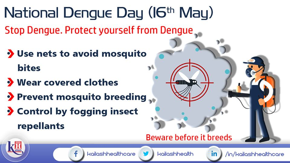 Prevent Dengue before it starts breeding! Know all about Dengue prevention's.