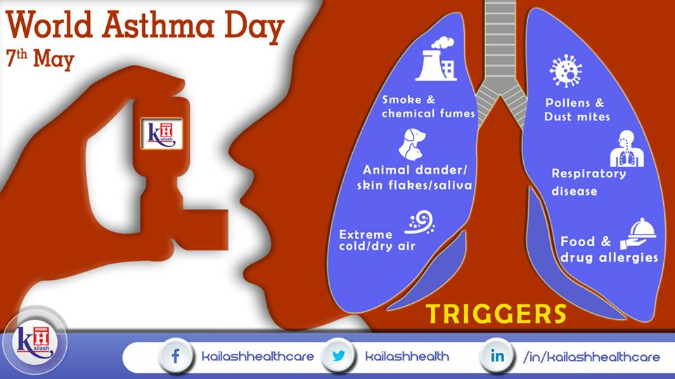 Stay away from these Asthma triggers to prevent breathing discomfort.