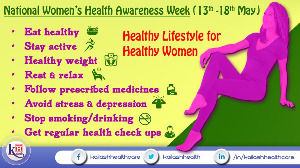 These healthy lifestyle tips can help Women stay healthy, active & mentally fit