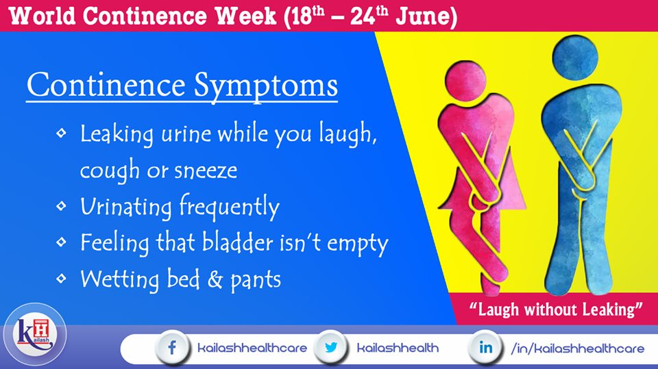 If you're leaking or wetting pants,you may have Continence problem. Consult our best Urologists