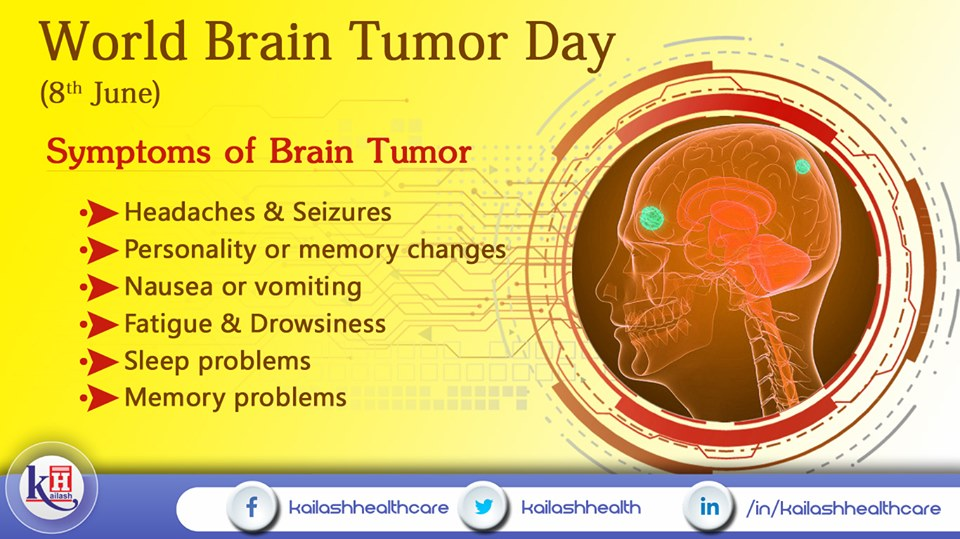 Knowing the early signs of Brain Tumor can help better diagnosis & treatment.