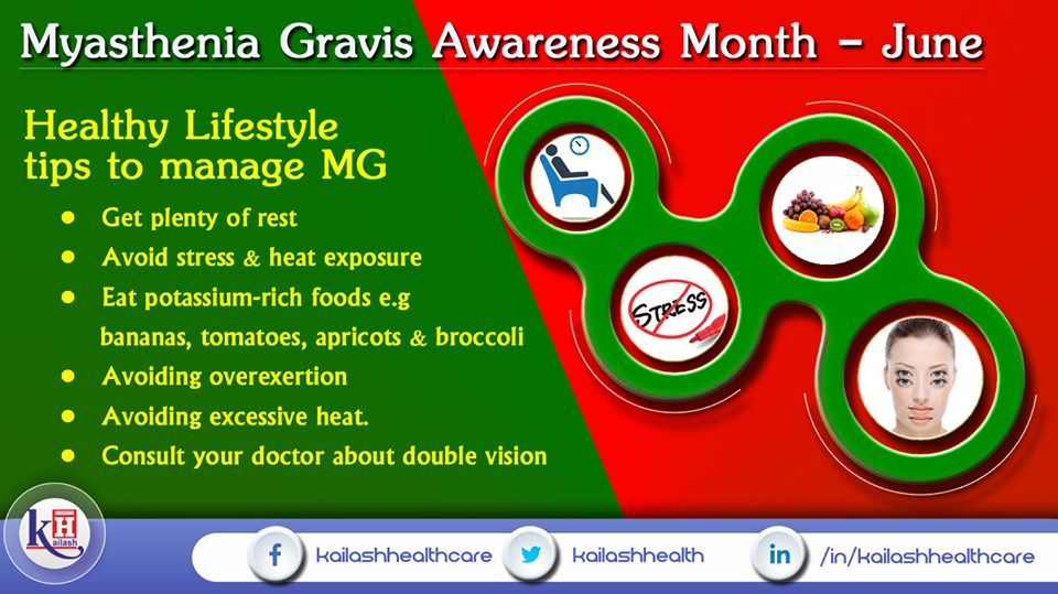 Myasthenia Gravis can lead to skeletal muscle weakness. Here are some tips to manage MG.