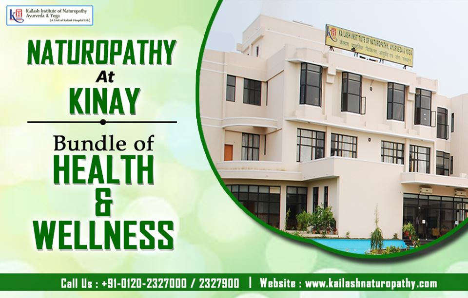 Naturopathy is a solution for completely natural Health & wellness. Experience Natural therapies at KINAY.
