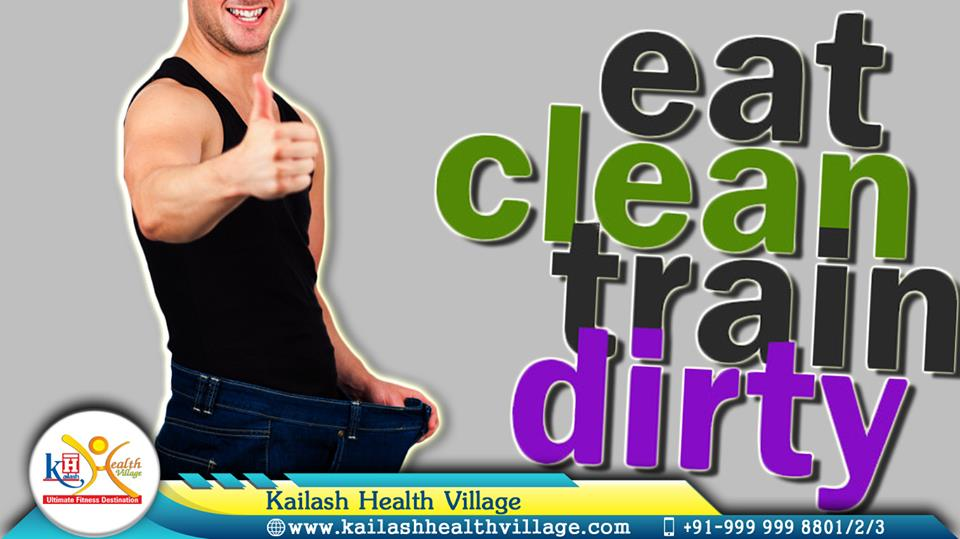 Workout hard with healthy diet for an amazing fitness at Kailash Healthvillage, Noida