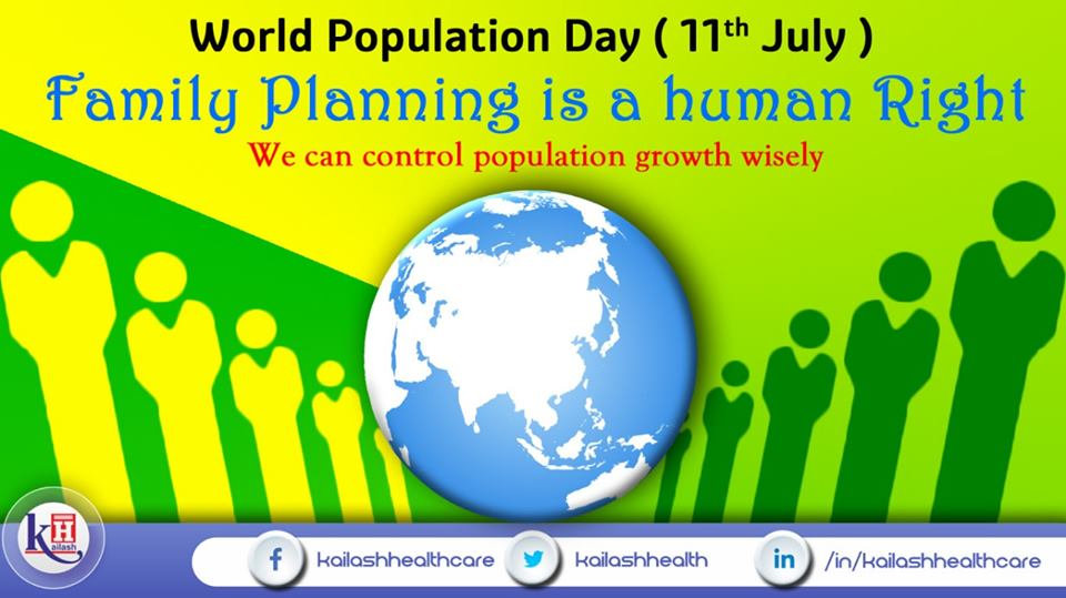 Controlling the burst of our Population is in our hands. We should act wisely & adopt Family Planning to stop Overpopulation.