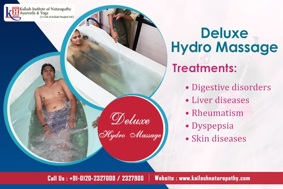 Hydromassage is Natural therapy to relieve all Digestive problems & Liver diseases.