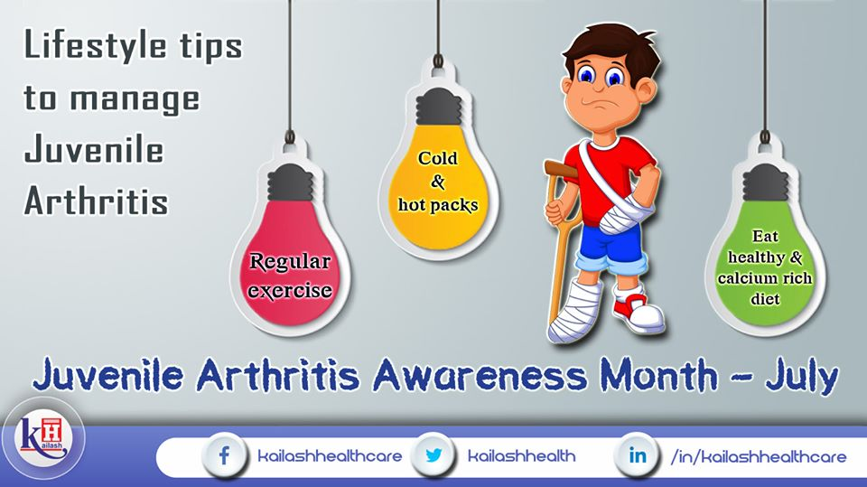 Juvenile Arthritis in children can make daily life difficult. Know the tips here to manage the condition.