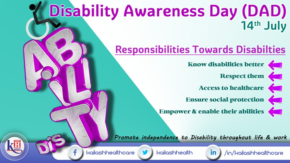 Respect & Empower people with Disabilities. Encourage their special skills & abilities