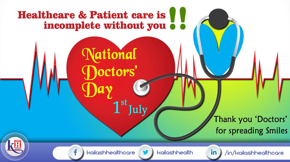 Thank all the Doctors of your life for their care & compassion to keep you safe, healthy & pain-free.