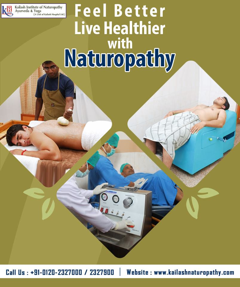 Treat your problems & Live naturally healthy through adopting Naturopathy. Visit KINAY for best Naturopathy therapies.