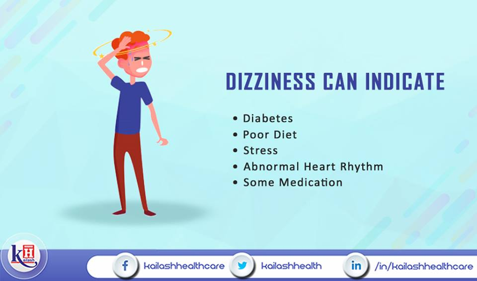 If you feel dizzy frequently, it may indicate one of these conditions. Consult our Physicians for better health diagnosis.