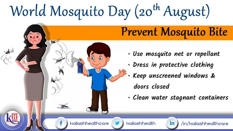 Know the preventive measures to prevent mosquito bite & stay safe against mosquito-borne diseases.