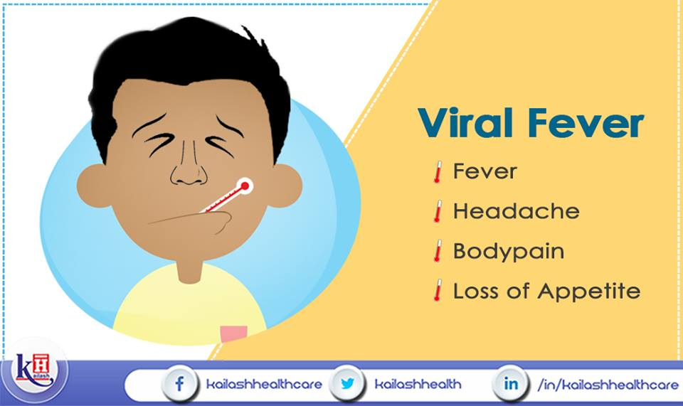 You might be suffering from Viral Fever if you're experiencing any of these symptoms. Consult our Physicians in case of severe symptoms.