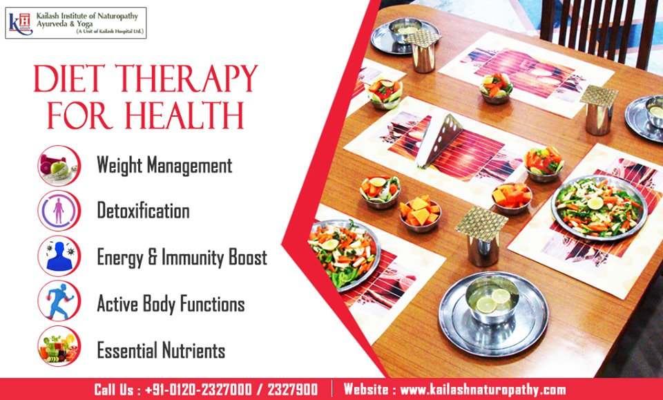 Diet Therapy is an effective natural treatment for most of your health problems ranging from nutrition to weight management.