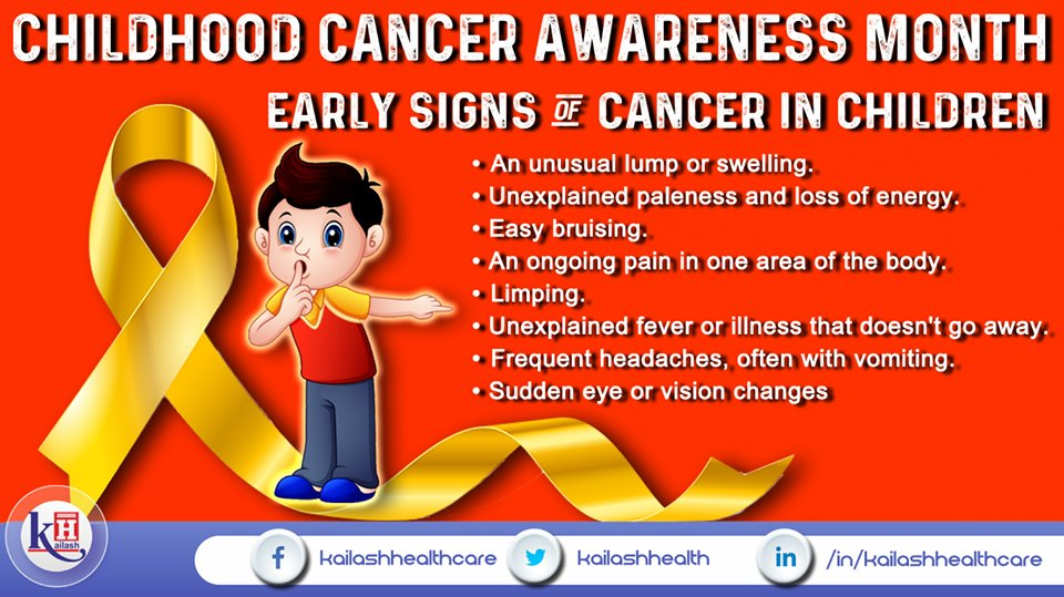 Early accurate diagnosis of Childhood Cancer followed by effective treatment can improve outcomes for children at early stages. Know about its symptoms & consult our #oncologists.