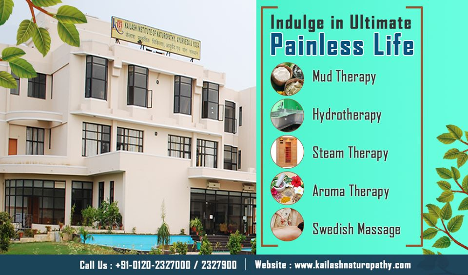 Experience the most effective Pain relieving Naturopathy therapies at KINAY.